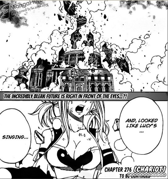 many chapters ago Carla saws mercurius collapse and Lucy singing what ...