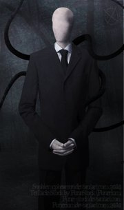 """So I was watching a game play of Slender and I started to see something strange. """"Slenderman"""" is kind"""