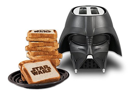I was thinking to buy a new toaster for my kitchen...and look what I found, a Darth Vader toaster in