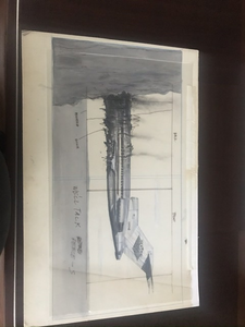 I've owned this original sketch for licensed to I'll since 1986. I'm good friends with the ar