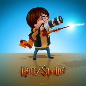 The first person to spot Harry Potter earns 10 apoyar for Gryffindor! Just post your Potter in th