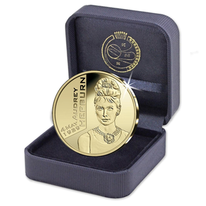 Unique collectorsitem (yesterday online) from Royal Mint of Belgium (Anniversary Audrey 4 may 1929) O