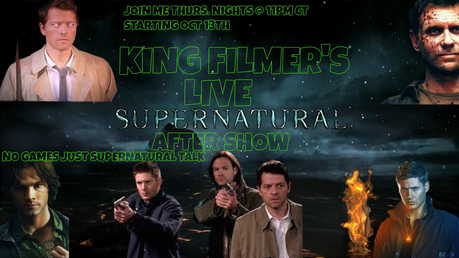 Hi everyone in SUPERNATURAL land I'm KING FILMER and every Thrus night @ 11pm CT my mga kaibigan and I go