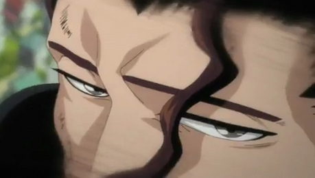 "In ur opinion who is the most deadliest shinigami of all............ for me it ""shunsui kyoraku"" H"