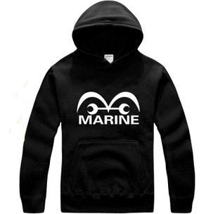 what do আপনি think about this One Piece Marin fashion logo pullover hoodie?