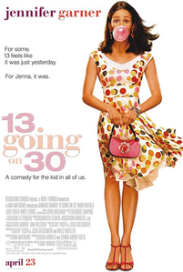 This 13 going on 30 authentic movie poster needs a home. Please let me know if you're interested