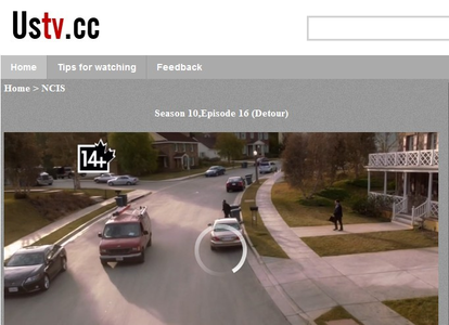 Great News ,I'm watching NCIS Online.