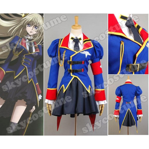 Buy Code Geass GAIDEN Akito and Layla Markale Cosplay Costumes at skycostume. Custom made in your ow