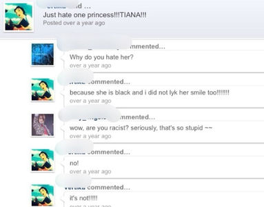 What is with the racism? This is old though. Found it on ancient fanpop.