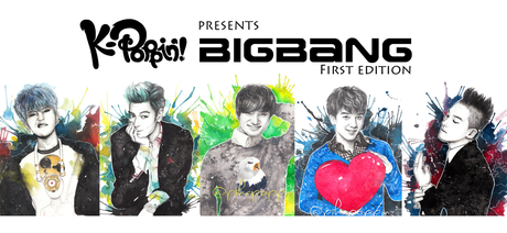 Hey, VIPs! I made drawings of BIGBANG's personels. I made these with pencils and watercolors on wat