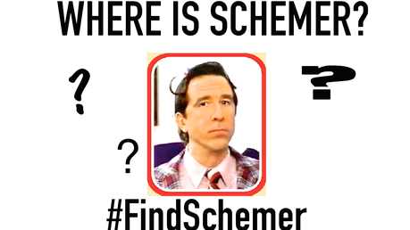 Hello Everyone. I'm here to talk about Schemer. Where is he? Why is he no longer menunjukkan his fa