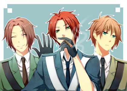 not much but this is my first try............ and i need to catch up on my Hetalia randomness