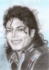 Post one of your inayopendelewa paintings au drawings of Michael Jackson