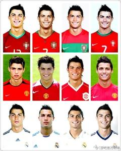Cristiano Ronaldo each period プロフィール picture