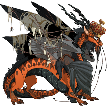 WHo is your best dressed dragon? Show them off down below! Here's mine: October!