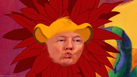 Photoshop a presidential candidate over young Simba. Not enough Lion King memes in my opinion.