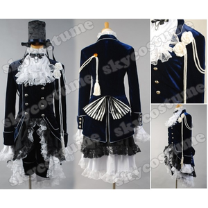 Hi, I found a great site where I can buy custom made Black Butler Cosplay Costumes. The Black Butler