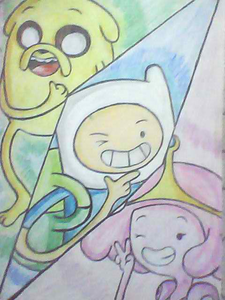 make your own adventure time drawing!
