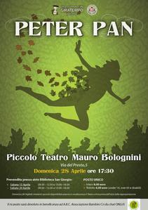 28 April 2013 Peter Pan is at Pistoia's Piccolo Teatro Mauro Bolognini