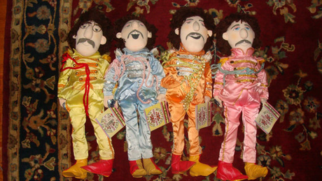 My prize possession one of Beatles Dolls. McCartney the rare doll and it's been respectfully preser