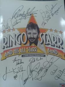 facebook.com/wastenotwantnot Hello!! I have a 1989 oro faced Ringo Starr and His All Starr Band t
