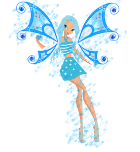If you have any fan art of your own winx club fairy , feel free to post them here.  This is mine :