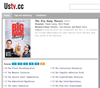 I 爱情 The Big Bang Theory ,AND i'm watching it online now