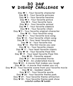 I thought this would be fun! Starting today, I wanna do this 30 Day Challenge. Each day, do whatever