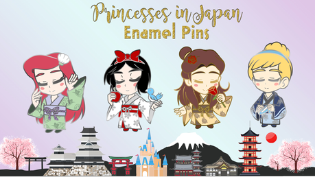 I am creating enamel pin designs for the classic princesses. Out of these four, who is your favorite?