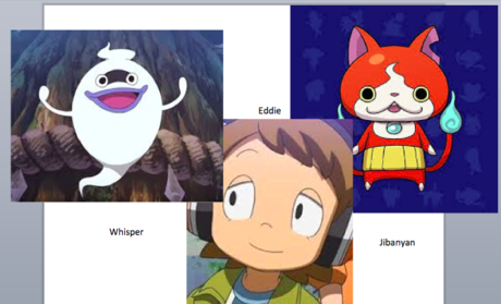1. Eddy 2. Jipanyan 3. Nate 4. Whisper those r mine.... they r all cool characters ^w