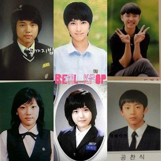 "[daum] ""The best picture of Idol stars graduation from their high school"" 1.Woohyun of Infinite 2."