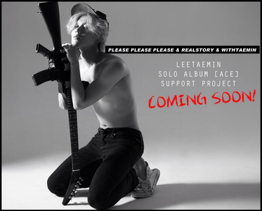 Pleasex3, REALSTORY and WithTaemin are preparing special events for Taemin's solo debut.