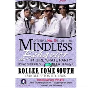 Come Check MB OUT IN FORT WAYNE INDIANA NOV 10, 2012 3hours from Chicago go to ticketmaster.com for p