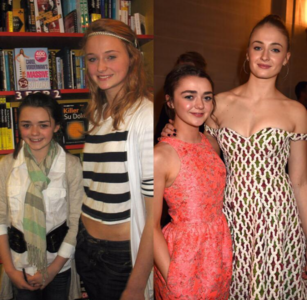 Sophie Turner and Maisie Williams, who have spent a considerable part of their lives with each oth