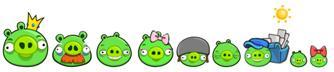 The Bad Piggies(A.K.A. Pigs または Green Pigs) are the main antagonists in the Angry Birds series, who ar