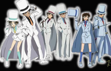 Please give me a picture of all the couples in Detective Conan