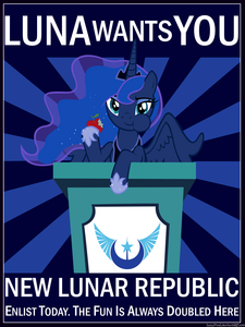 Luna is our true ruler