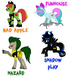 The team of 3 earth kuda, kuda kecil and 1 alicorn which devoted their life of working with the goverment and to