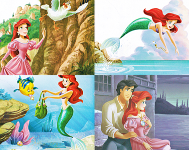 When Princess Ariel finds a beautiful jewel on the beach, she can't wait to find out where it came fr