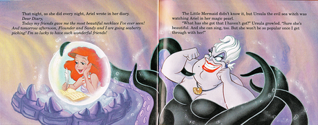 One of the many books in the The Little Mermaid's Treasure Chest series from 1992, Dear Diary tells t
