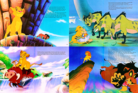 When Simba is banished from the Pride Lands by his evil uncle, Scar, it seems he will never be able t