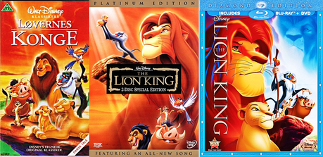 Here I will post Comparison Screencaptures from 3 different versions of The Lion King. The hàng đầu, đầu trang image