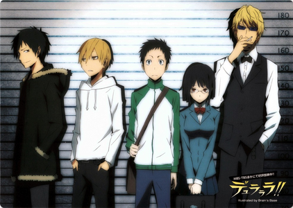 OKAY~~ THIS IS A DURARARA RP!! don't know the anime? just follow my lead ;) i promise i won't do ya w