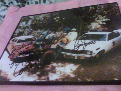 I have 2 dukes of hazzard foto's of the entire cast for $200