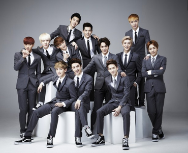 Post your best Exo Group Pic (can be edited or not) You can add a caption or description on your phot