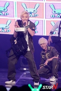 B.A.P's JongUp was on the ones taking the exam.Following exam,he went to M!Countdown to perform and s