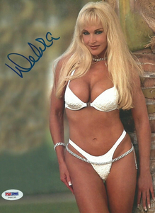 Over the years I've collected a lot of different Debra clippings, rare photos, autographs etc. Wil