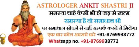 Vashikaran Specialist & Black magic specialist astrologer pandit ankit shastri ji call +91-8769938772