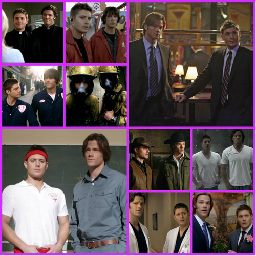 ♥ The Winchesters' Costumes and Disguises ♥