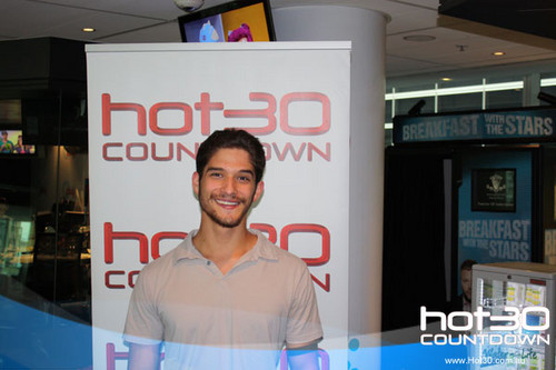 Visiting Hot 30 Countdown in Sydney